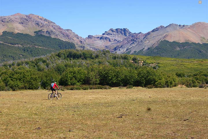 Mountain Bike en Esquel